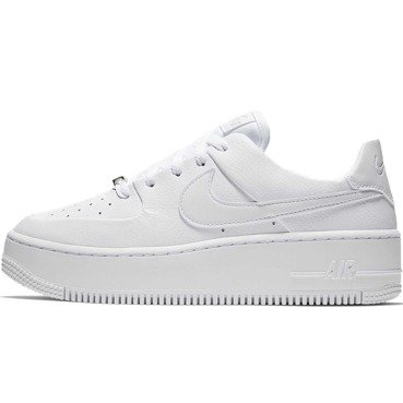 new styles be482 2d582 BUTY DAMSKIE LIFESTYLE NIKE AIR FORCE 1 SAGE LOW BIAŁE AR5339-100