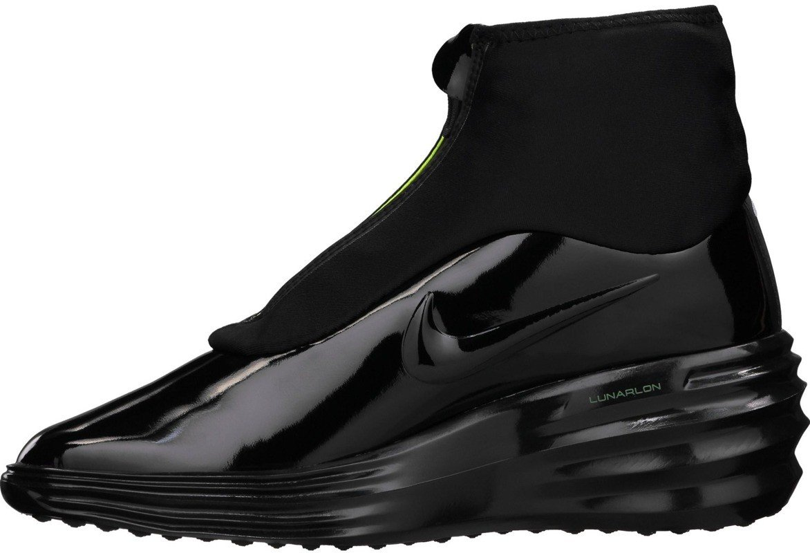 Buty WMNS Nike Lunar Elite Sky Hi Sneakerboot Black 684949 001