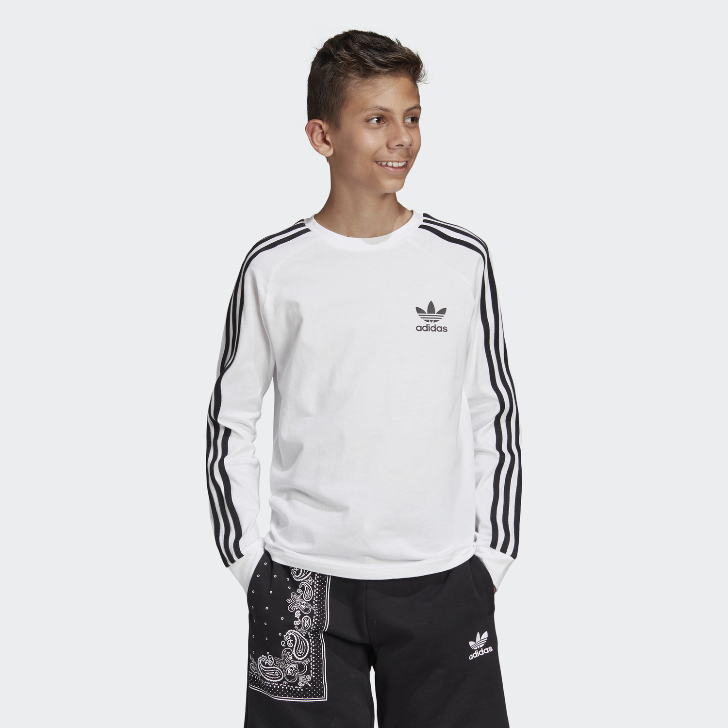 bluza adidas 3 stripes junior