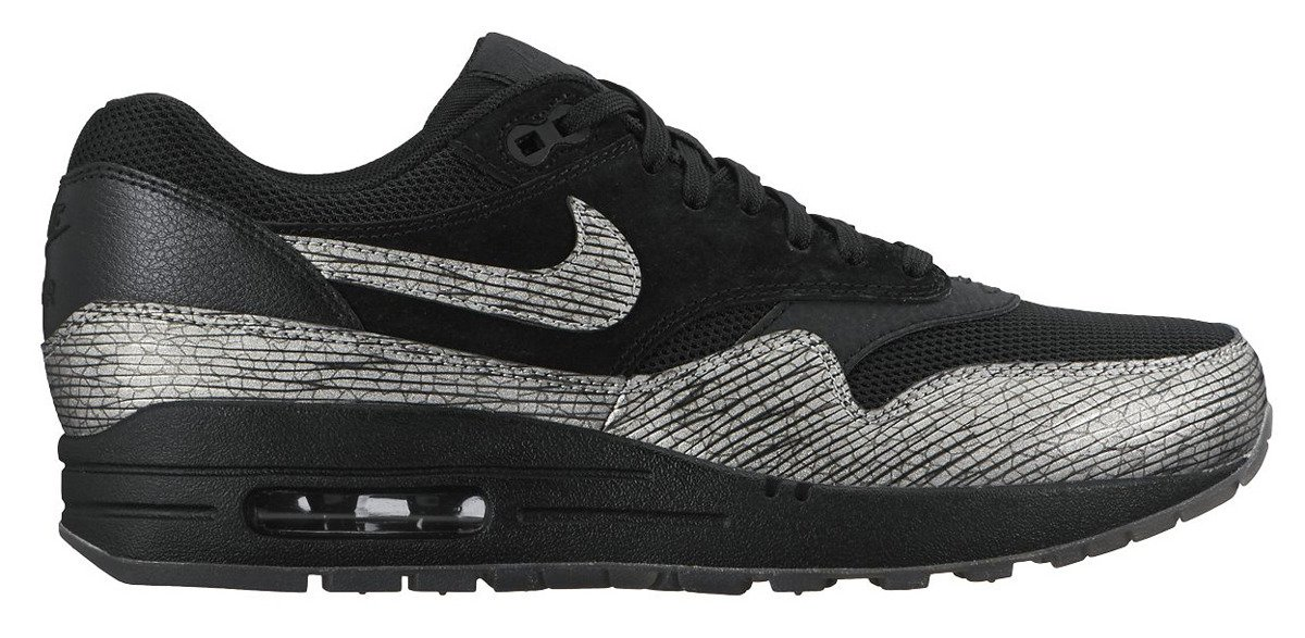 Nike Wmns Air Max 1 PRM Metallic Hematite Pack 454746 005