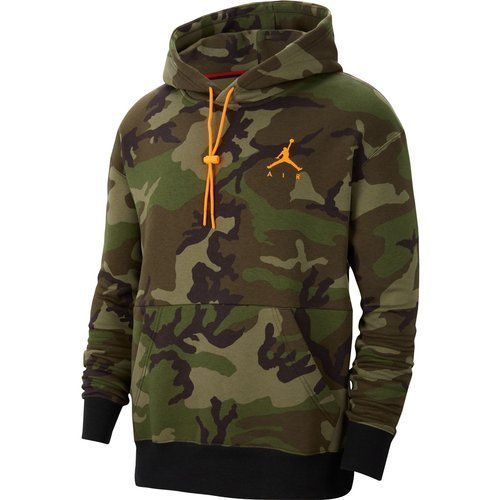 BLUZA MĘSKA AIR JORDAN JUMPMAN FLEECE PO CAMO CT3805-222