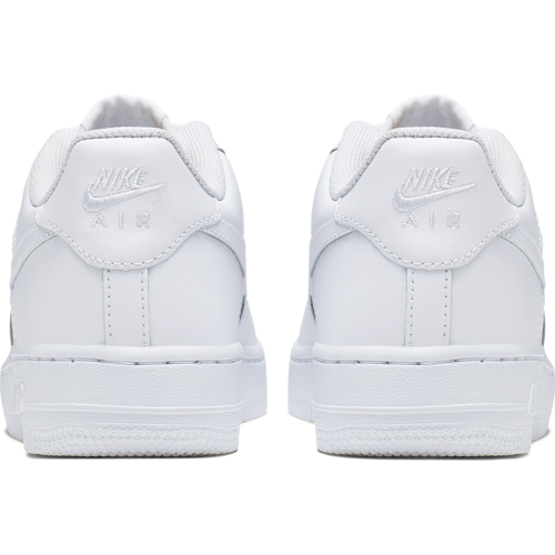 BUTY JUNIOR NIKE AIR FORCE 1 BIAŁE 314192-117