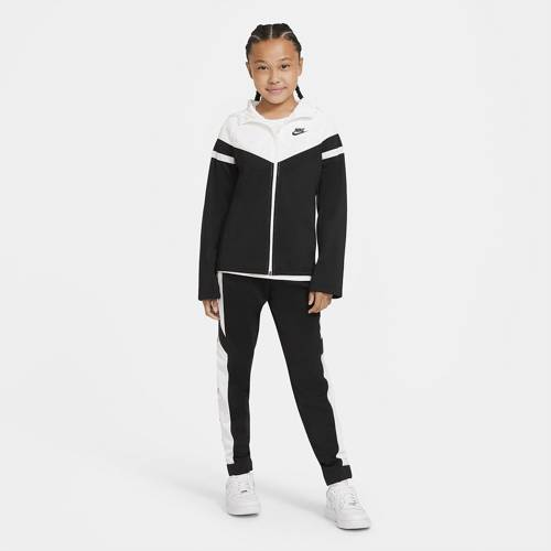 DRES JUNIOR NIKE NSW POLY WOVEN OVERLY TRACKSUIT CZARNY CU9202-010