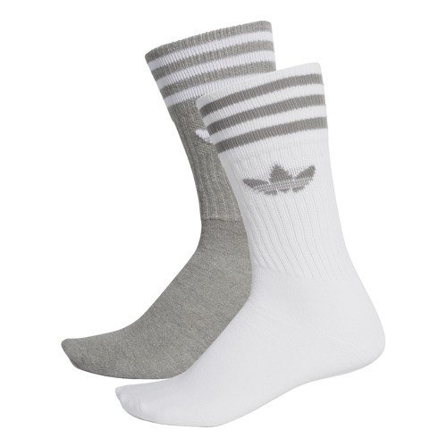 SKARPETY UNISEX ADIDAS SOLID CREW 2 PARY MULTIKOLOR DW3934